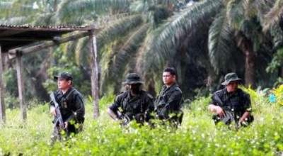 FOTO PERANG DI SABAH LAHAT DATU Serangan Militer Malaysia vs Sultan Sulu Filipina