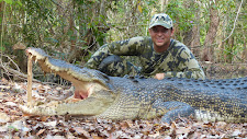 Mr Anderson from the USA, with a 14 footer caught in a jungle spring at Carmor Plains in late October.