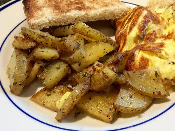 Sticky Potatoes Recipe