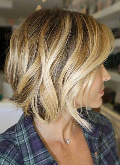 Magnificent Short Brown With Blonde Hairstyles Hairstyles For Men Maxibearus