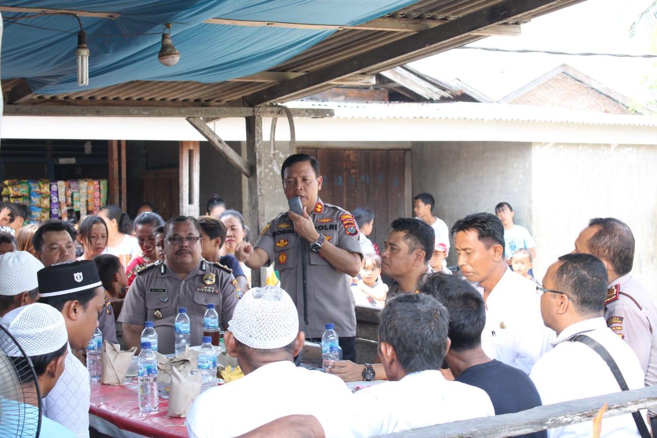 Kapolres Sergai AKBP Robin Simatupang. SH. M. Hum Ajak Masyarakat, Mari Kita Wujudkan Desa Bebas Narkoba
