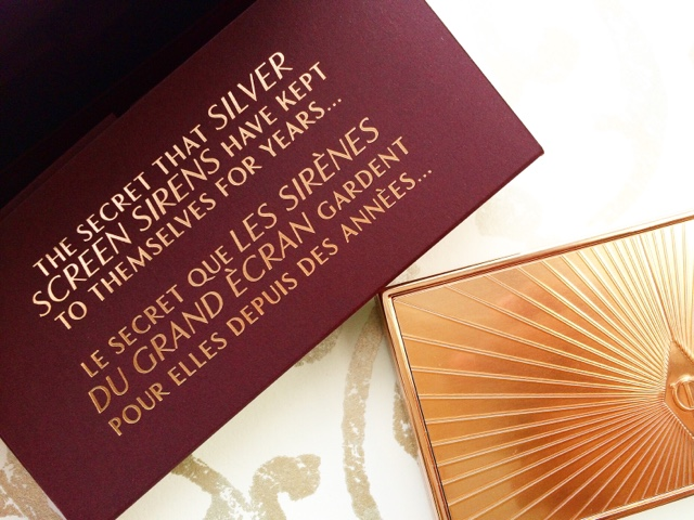 best makeup luxury high end makeup packaging cosmetics charlotte tilbury