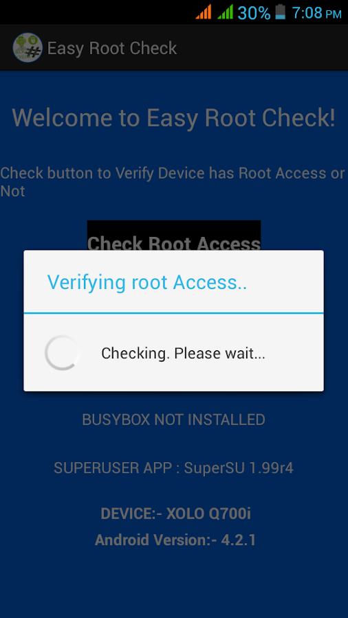Easy Root Check- screenshot