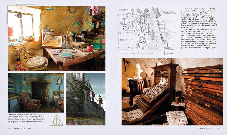 Harry Potter - Magická místa z filmů  –  Domovy kouzelníků