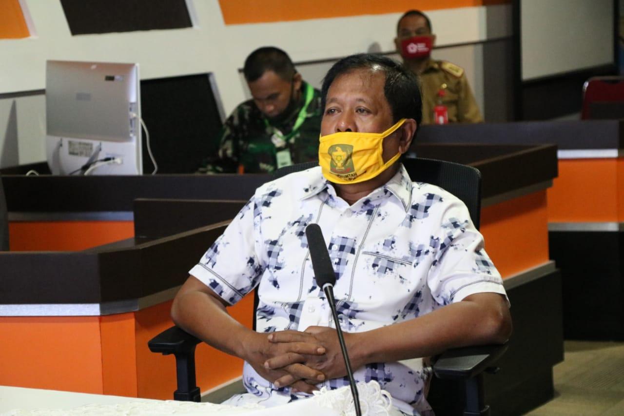 Bupati Soppeng Hadiiri Harla Pancasila 2020 Via Video Conference, Simak Sambutan Jokowi