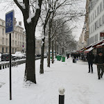Belleville sous la neige (France)