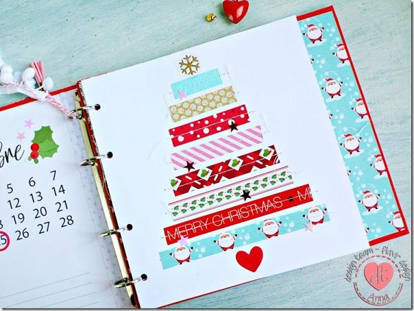 mini album di Natale