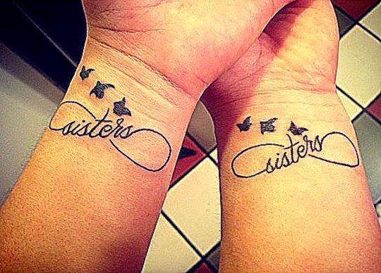 50 Sister Tattoos Ideas  Showcase of Art amp Design