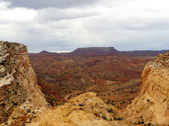 Flat Top above South Temple Wash