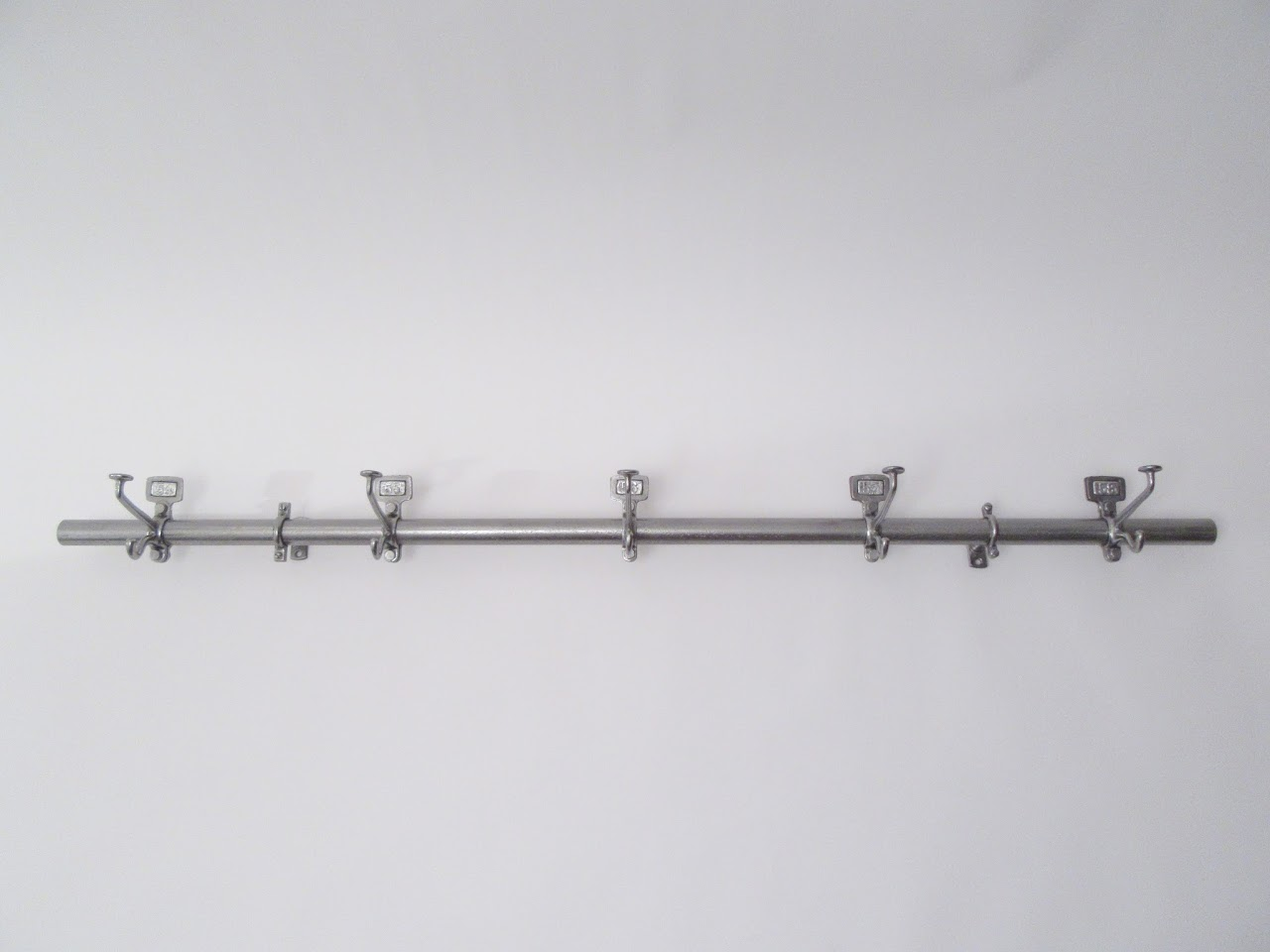 French Linear Wall Mount Rack