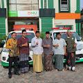 PCNU Kabupaten Magelang Melalui BNU Syariah Serahkan 2 Unit Ambulan Untuk MWC Tegalrejo dan Candimulyo