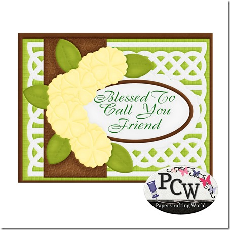 pcw blessed to call you friend card-450