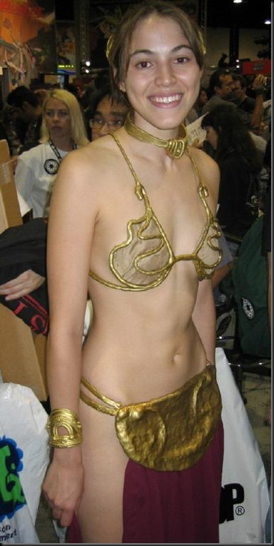 Princess Leia - Golden Bikini Cosplay_865825-0020