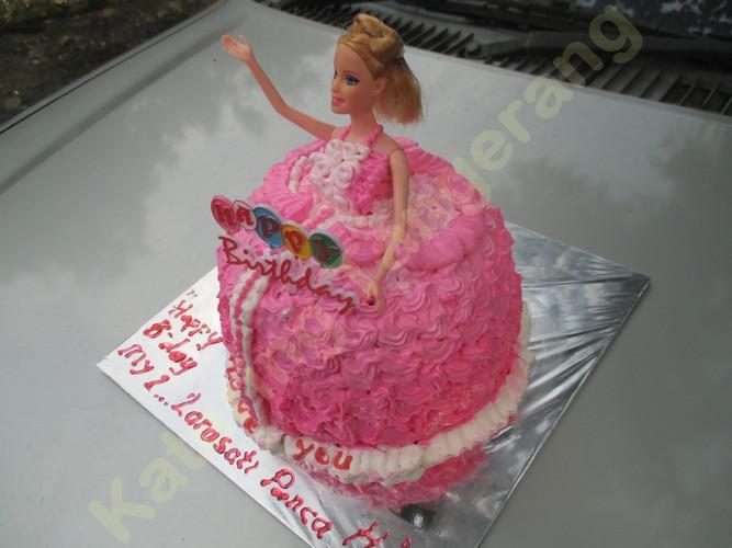 Kue Ulang Tahun Barbie Modernland