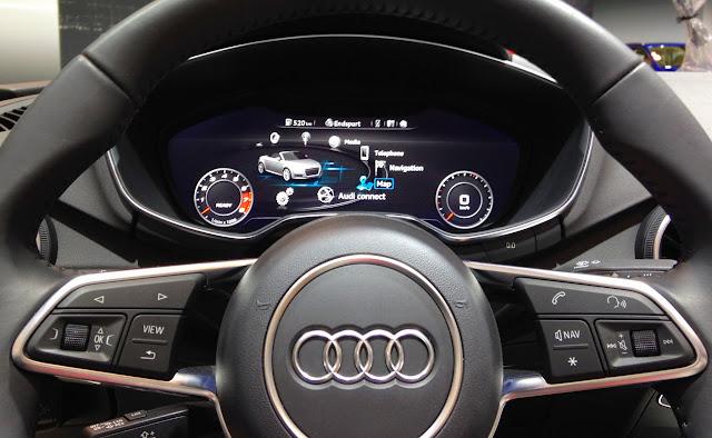 Audi S All New Virtual Cockpit Keriblog