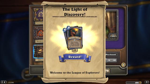 Hearthstone: League of Explorers - Forgotten Torch