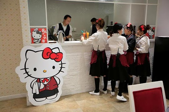 First official Hello Kitty restaurant opens in Shanghai