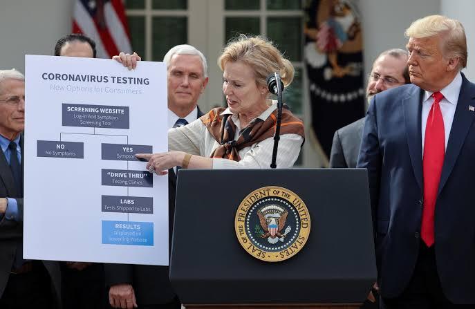 Donald Trump Jalani Tes Corona
