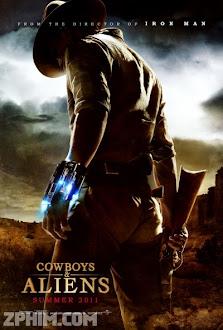 Cao Bồi Và Quái Vật Ngoài Hành Tinh - Cowboys And Aliens (2011) Poster