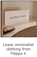 how to lease minimalist clothing at filippa k