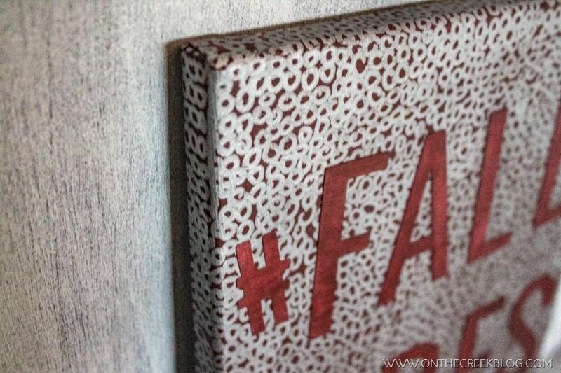 #fallvibes canvas art & free printable!