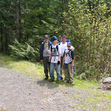Part of the group along the route