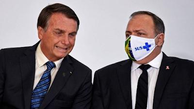 Bolsonaro desautoriza Pazuello e dá sinais de desgaste na relação