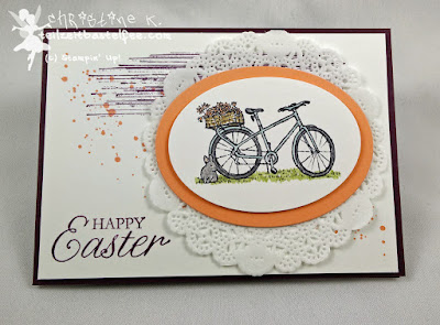 Stampin' Up!, In{k}spire_me #191, Easter Special, Easter Blossoms, Ostern, Sommertag, Gorgeous Grunge, Spitzendeckchen, Summer Afternoon