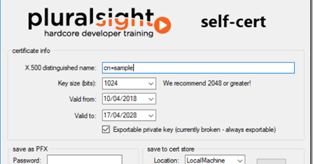 Pluralsight self-cert tool download free