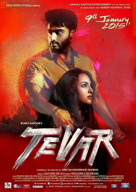 Poster Of Hindi Movie Tevar (2015) Free Download Full New Hindi Movie Watch Online At alldownloads4u.com