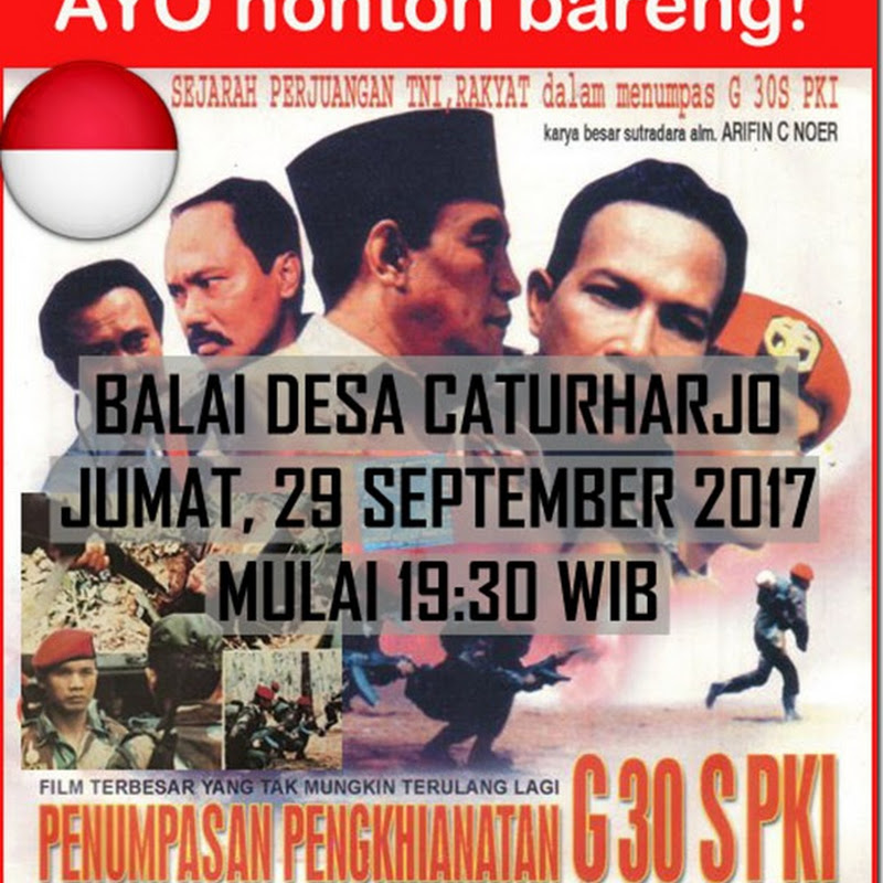 Nonton Bareng Film Penumpasan Pengkhianatan G30S/PKI
