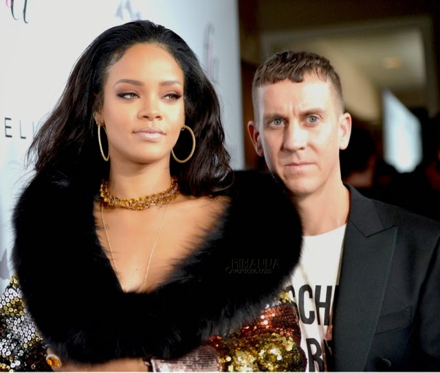 Rihanna attends The Daily Front Row's Los Angeles Fashion Awards in Moschino