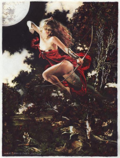 Moon Goddess Diana Pencil, Goddesses