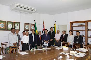 Prefeito Chico Brito realiza reunião com agência japonesa de cooperação