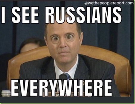 Adam Schiff bug eyed