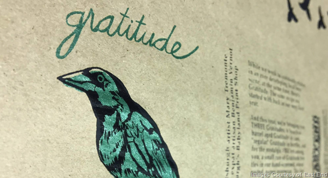 East End Brewing Announces Gratitude Release 3/24 & More