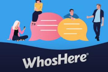 تطبيق WhosHere لتعارف والمواعدة