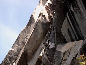 Rock outcropping, near Nevada Falls