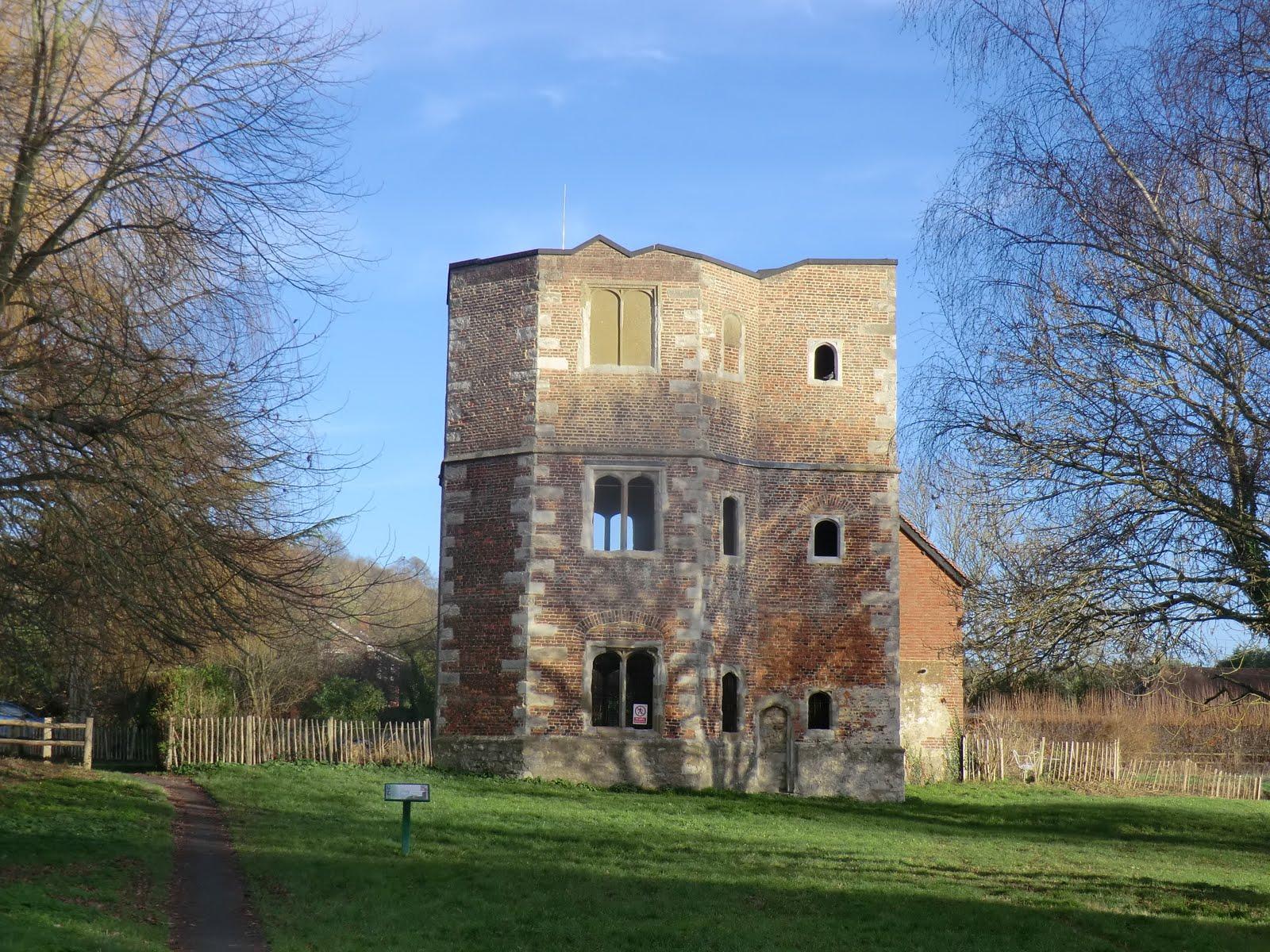 CIMG7902 Archbishop's Palace ruins, Otford