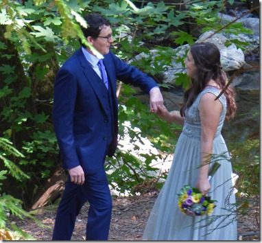 Michael and Anna, Wedding Day, Camp Meeker California, July 21, 2018