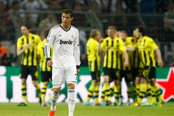 Liga de Campeones, R. Madrid-Borussia