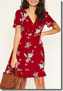 Oasis Havana Floral Tea Dress