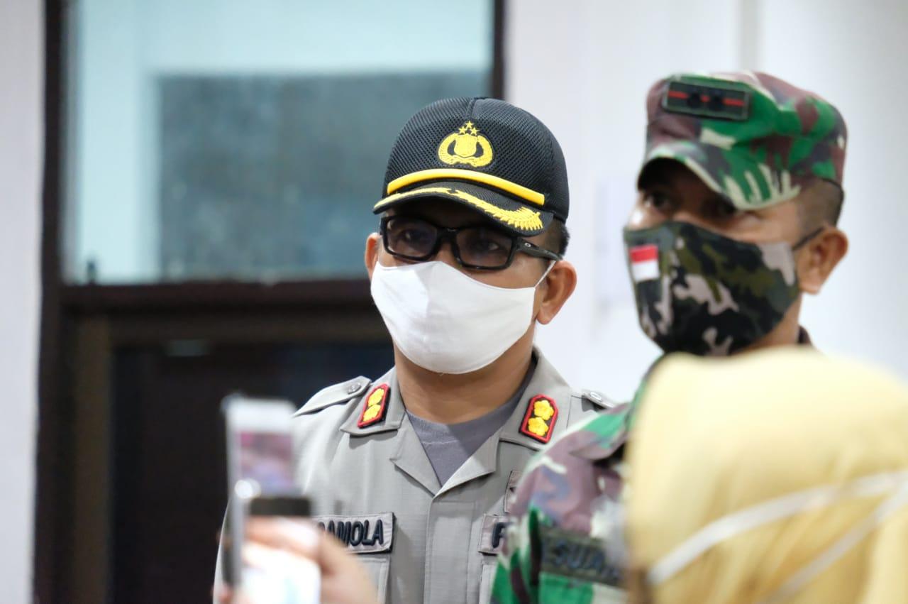 Kapolres Gowa Hadiri Apel Gabungan Dalam Rangka Penutupan Kegiatan PSBB Kab Gowa