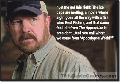Bobby on SUPERNATURAL Apocalypse World quote