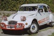 Citroën 1987 2 CV Rudolp