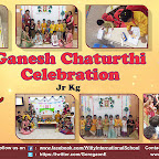 Ganesh Chaturthi Celebration by Pre - Primary Section ( 2018-19 ),Witty World, Goregaon East