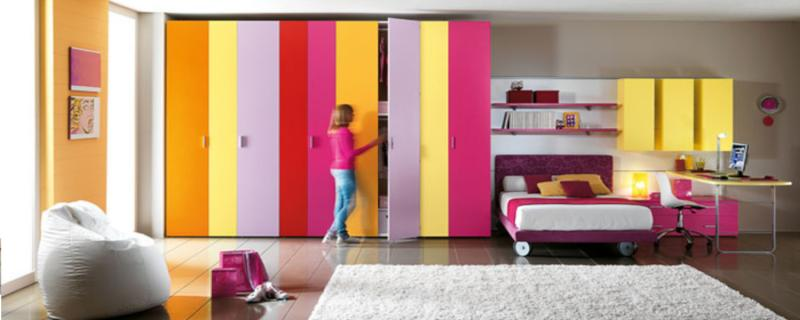 Signorini arredamenti arredamento camerette per bambini e camere per ragazzi a bergamo - Armadio camera bambini ...