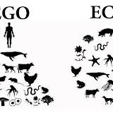 экологические плакаты EGO ECO ЭГО ЭКО