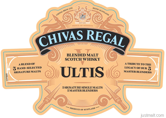 Chivas Regal Ultis Blended Malt Scotch Whiskey