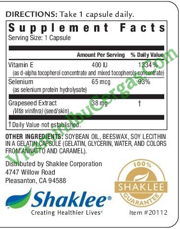 {focus_keyword} Vita-E Complex®, Antioksidan Organik dan Semulajadi Vitamin 2520E 25202